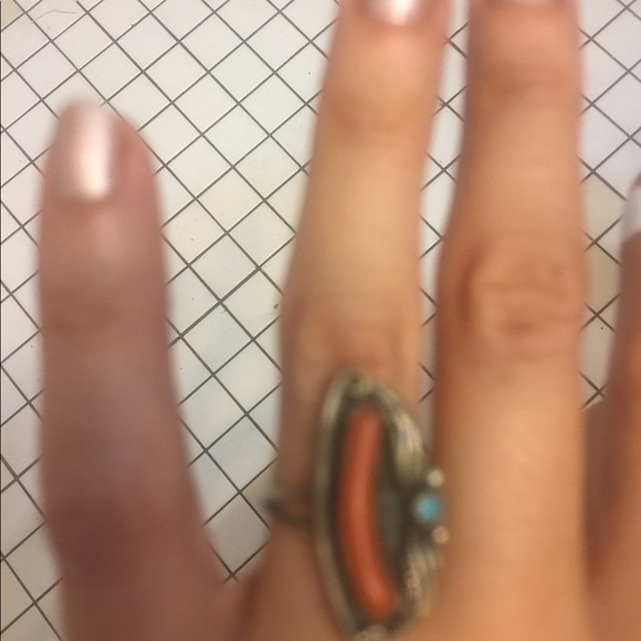 Jewelry - Real  stone-silver 925 ring vintage.